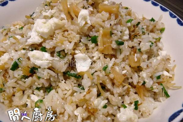 瑶柱蛋白炒饭