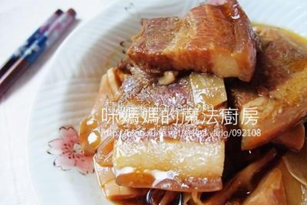 桂竹笋炖五花肉