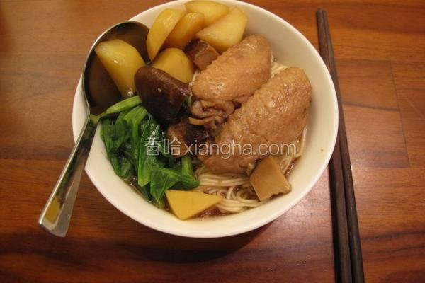 鲜菇马铃薯鸡翅煮
