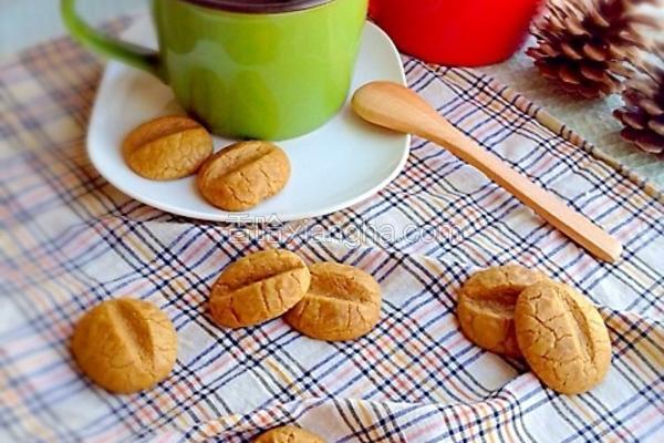 咖啡豆小饼干