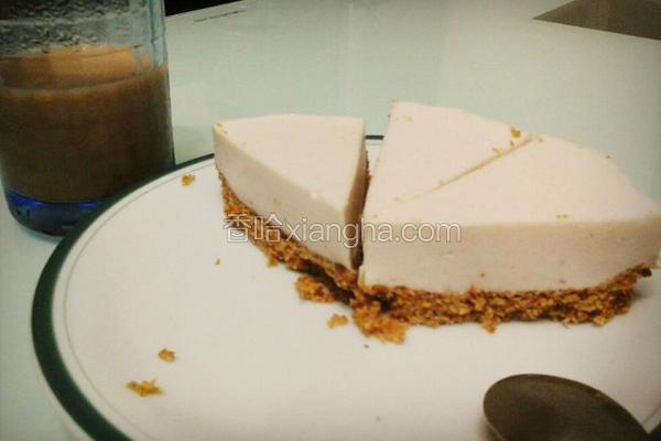 免烤箱轻乳酪蛋糕