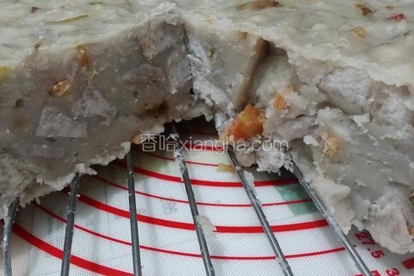 港式腊味芋头糕