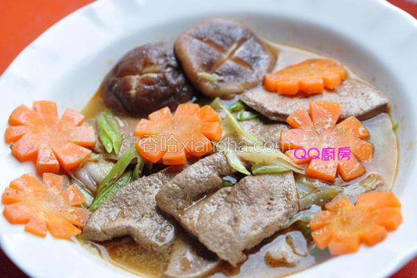 麻油炒猪肝汤