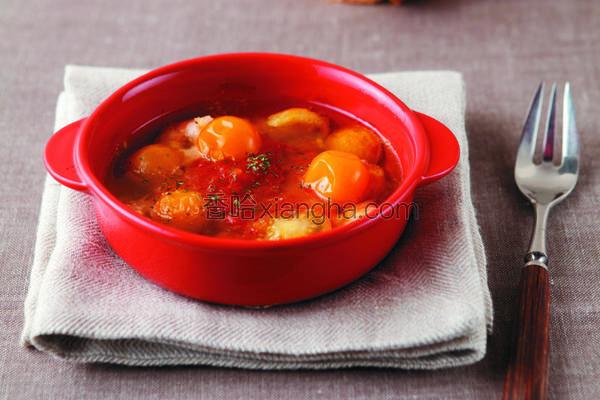 蒜味鲜虾小番茄