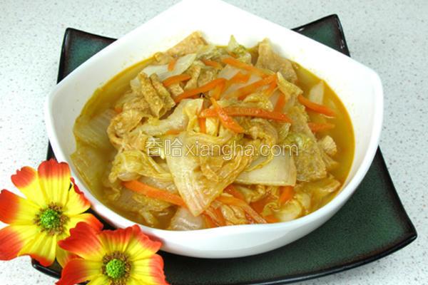泰式酸辣烩白菜