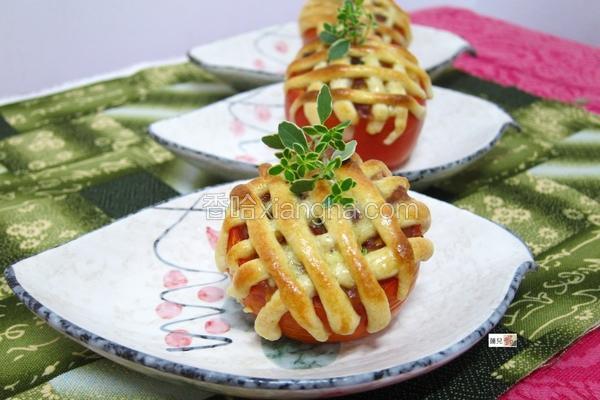 番茄咖哩派