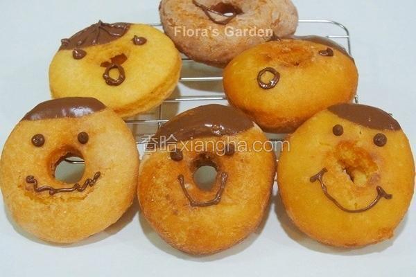 豆渣甜甜圈