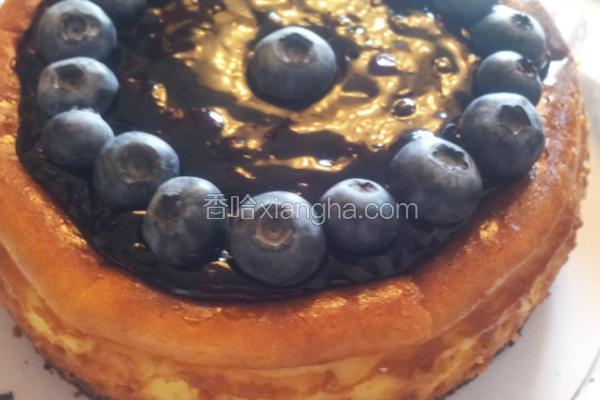 蓝莓起司蛋糕