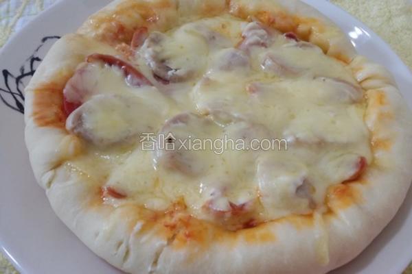 平底锅烤披萨