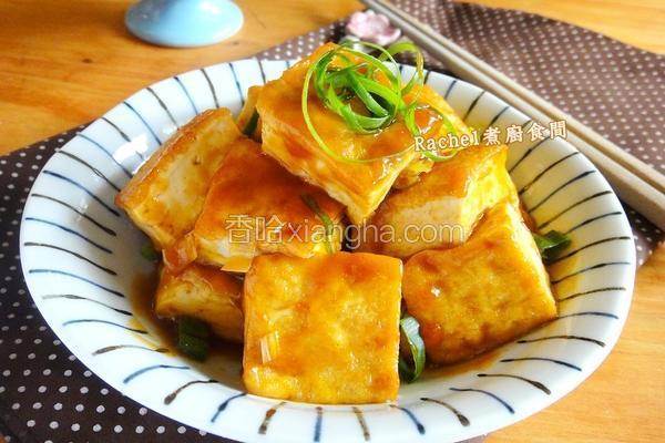 香煎糖醋豆腐