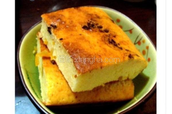 蜂蜜柚子蛋糕