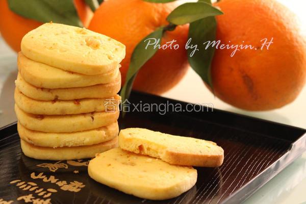糖渍橙皮饼干