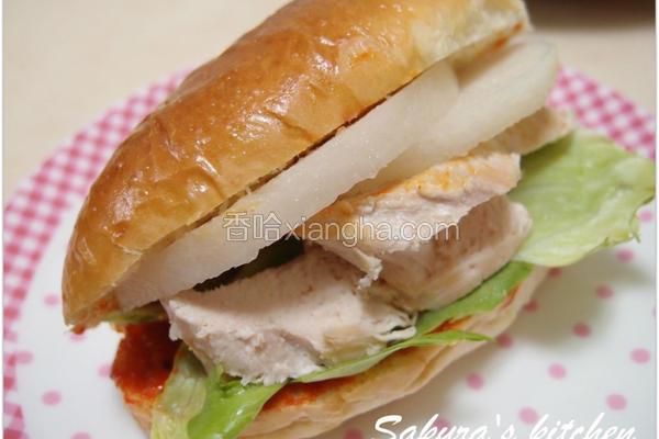 韩式开胃三明治