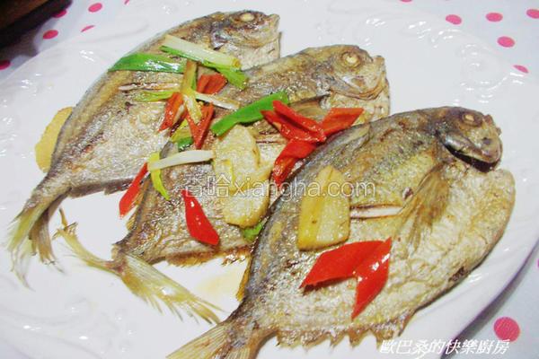 辛香油煎肉鲳鱼