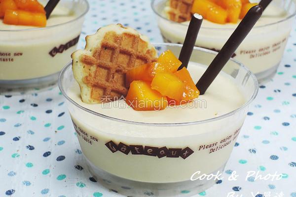 芒果乳酪杯