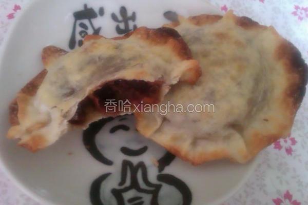 飞碟红豆饼
