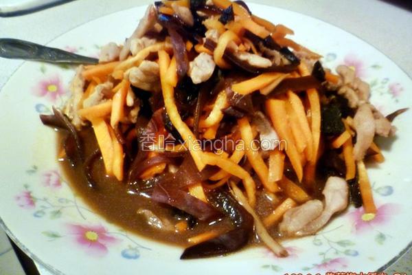 紫苏梅木须肉