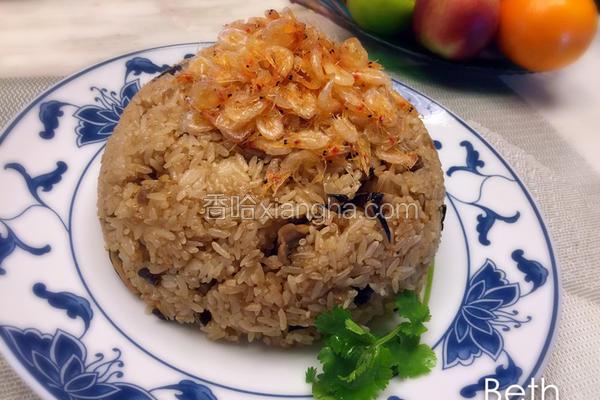 樱花虾油饭