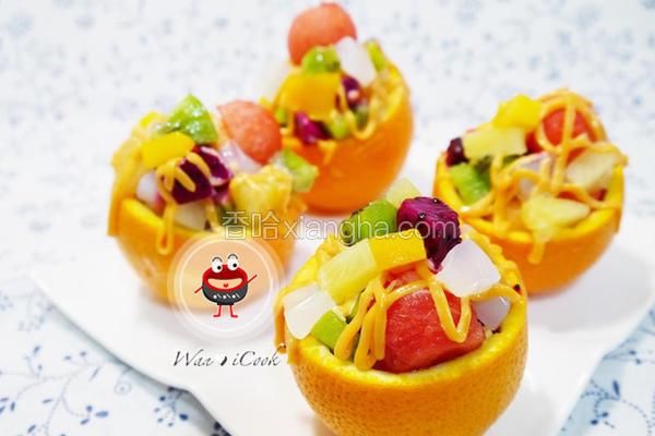 什锦水果沙拉盅