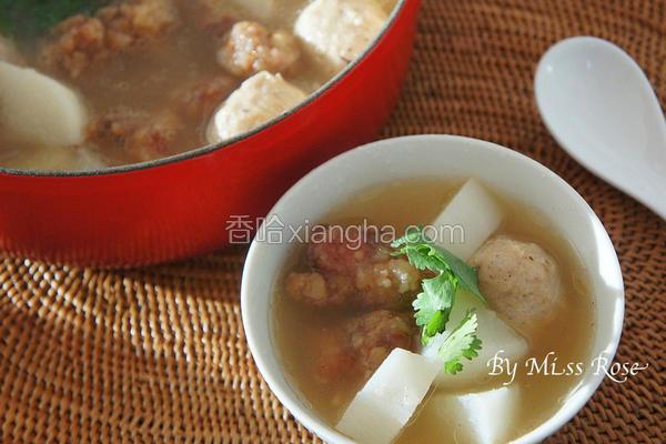 萝卜排骨酥汤