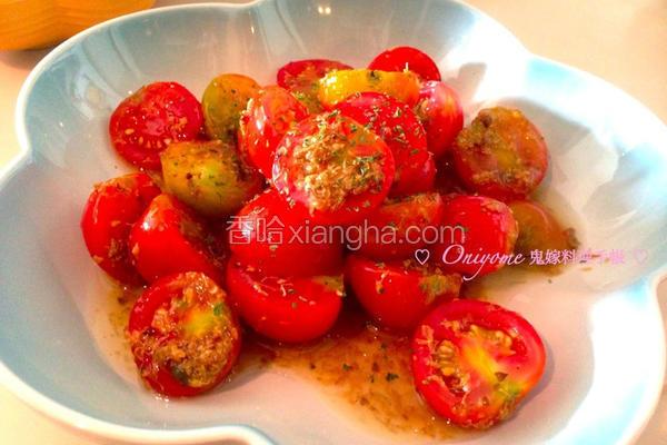 桂花糖渍小番茄