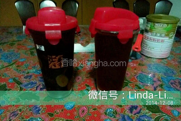 养颜补血红枣茶