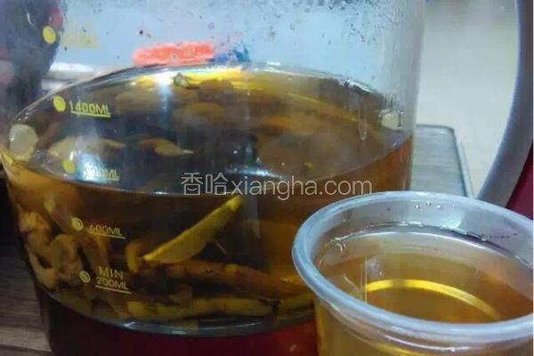 灵芝石斛养生茶