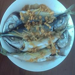 东菜蒸白面鱼