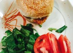 法式鸡肉汉堡
