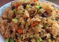 泡菜牛肉粒炒饭