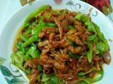 青椒炒肉丝的做法[图]