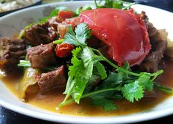 西红柿烧牛腩