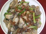 菜脯炒牡蛎的做法[图]