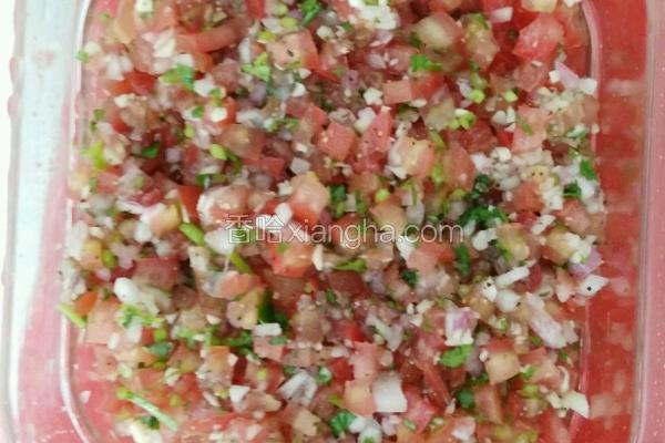 墨西哥玉米片配沙沙的沙沙