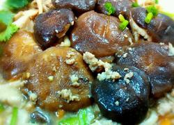 肉末炒杂菇
