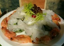 越式春卷皮裹时蔬明虾