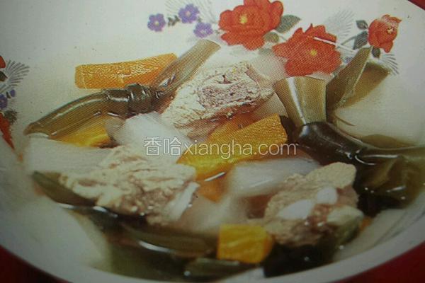 海带排骨萝卜汤