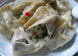 沙葛韭菜猪肉饺子