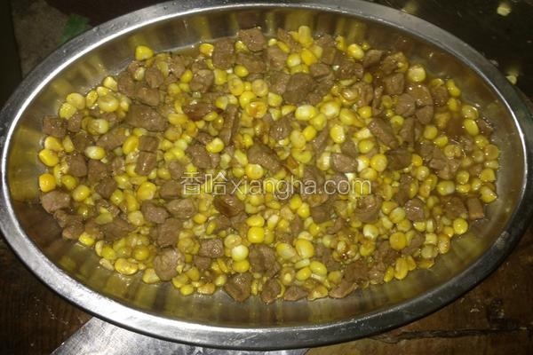 牛肉玉米粒