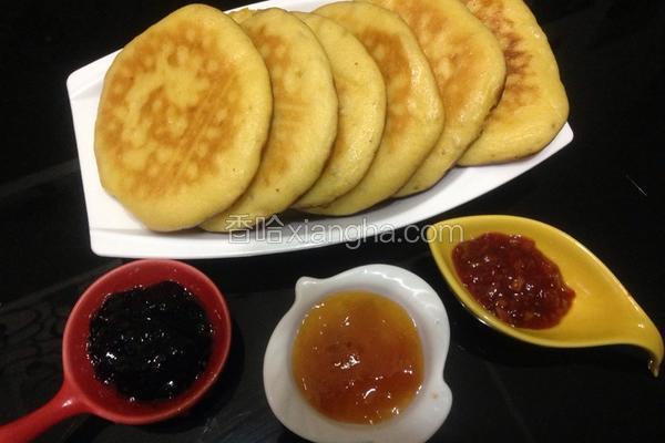 中式松饼---玉米软饼
