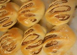 芝麻豆沙面包
