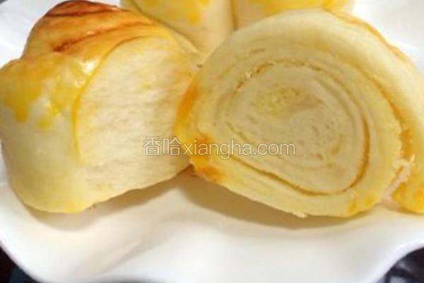 奶酪培根面包卷