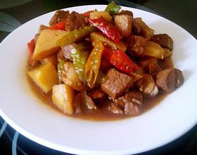 红烧肉炖土豆[图]