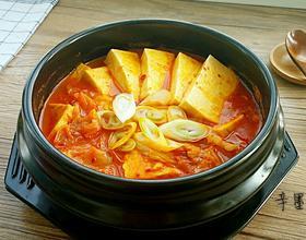 辣白菜豆腐汤[图]