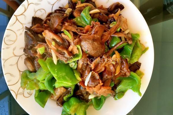 鲜榛蘑炒肉