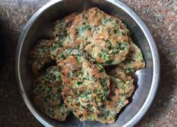 韭菜魚肉饼