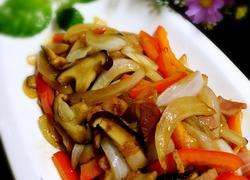 香菇培根炒时蔬