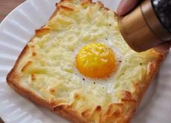 · 芝士鸡蛋烤吐司 ·