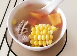 木瓜玉米猪骨汤