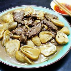 草菇炒牛肉的做法[图]